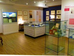 The ARmitt Museum where Beatrix Potter's mycology drawing are held