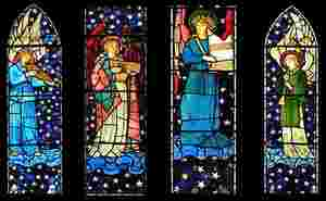 Morris & Co. window in Staveley