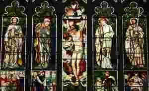 Burne-Jones window in Troutbeck